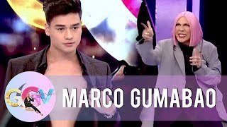 Marco flaunts his well-built body | GGV