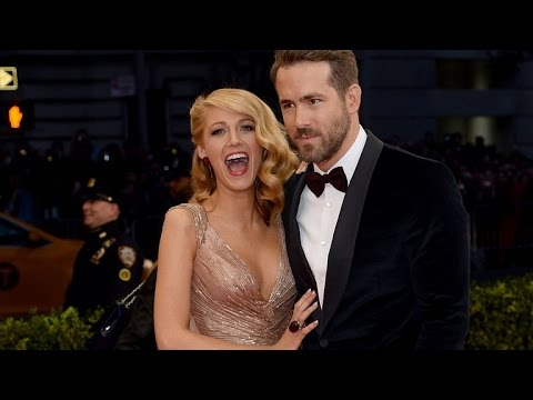 Ryan Reynolds Grabs Wife Blake Lively's Breast in Hilarious New Deadpool Pic!