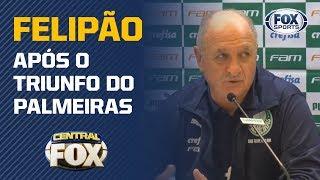 SEGUE O LÍDER! Após mais uma vitória do Palmeiras, Felipão fala ao vivo!