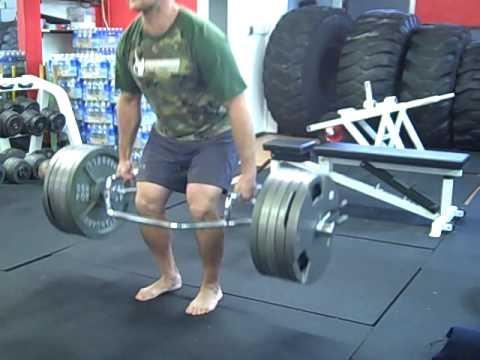 Zach Even - Esh Leg Workout with the Trap Bar Deadlift 495 x 5 EZ Image 1