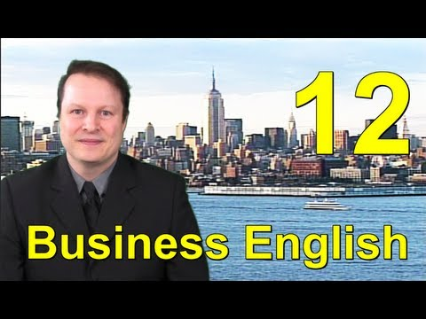 Learn English with Steve - Business English 12 - Job Interviews - New York City