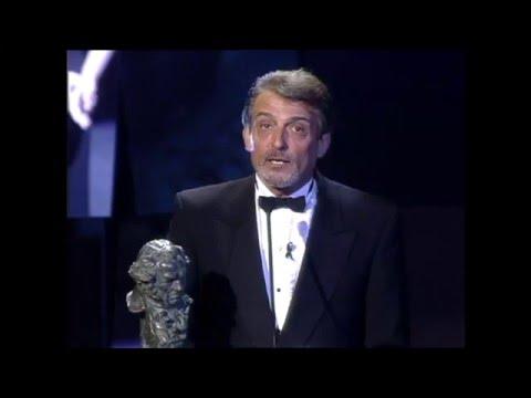 José Sancho recoge el Goya a Mejor Actor de Reparto en 1998