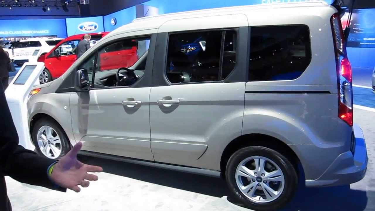 2013 ford transit connect 7 and 5 seater la auto show 2012 by krekila youtube