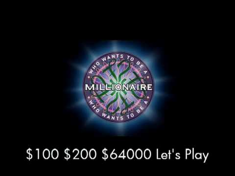$100, $200, $64000 Let's Play - Who Wants To Be A Millionaire? video