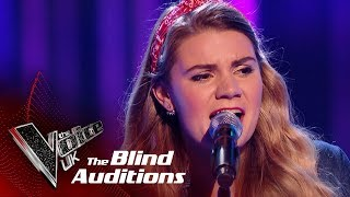 Chloe Jones' 'Call Me' | Blind Auditions | The Voice UK 2019