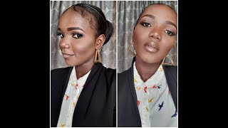 HOW TO DO SUBTLE MAKEUP TO WORK: OFFICE GLAM 1