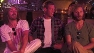 Shirtless Merlin knights Tom Hopper, Eoin Macken & Rupert Young