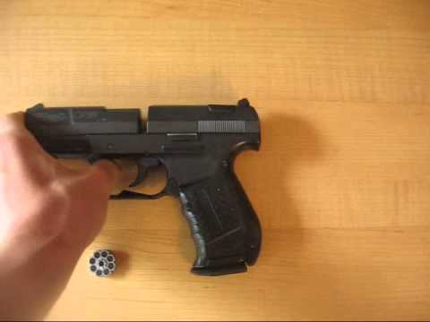 Walther CP99 Pellet Gun Review and Shooting