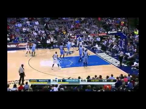 NBA CIRCLE - Denver Nuggets Vs Dallas Mavericks Highlights 25 Nov. 2013 www.nbacircle.com