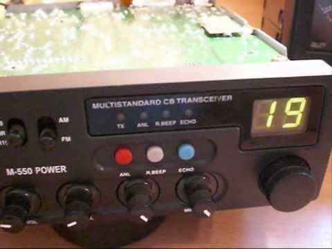 INTEK M-550 POWER   OUTPUT MODIFICATION.