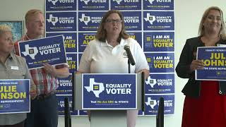 Live: HRC in Dallas to Announce Endorsements of Pro-Equality Leaders