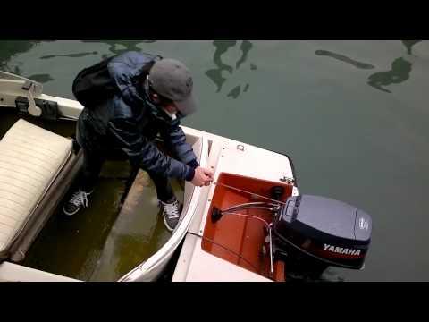 come accendere il motore fuoribordo