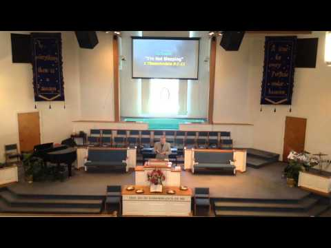 AUSTIN SQUARE BAPTIST CHURCH Rev. Steven Wilfert Sermon Title: I'm not Sleeping