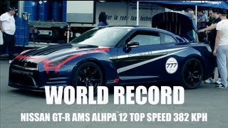 GT-R AMS Top Speed World Record — 382 kph (237.5 mph)