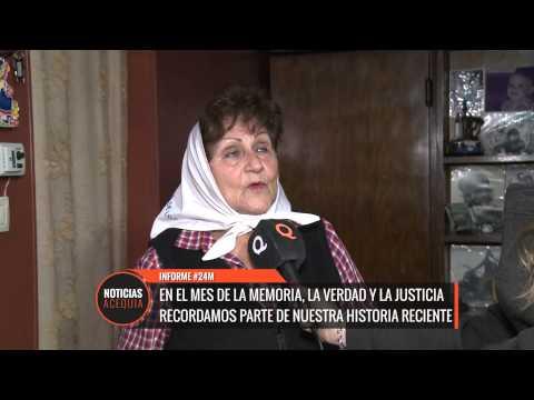 La mendocina María Domínguez recuperó a su nieta