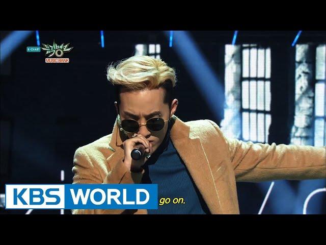 Zion.T  Crush - Just  ЛЛЛёМ  МКЛ - ЙёК Music Bank HOT Stage  2015.02.06