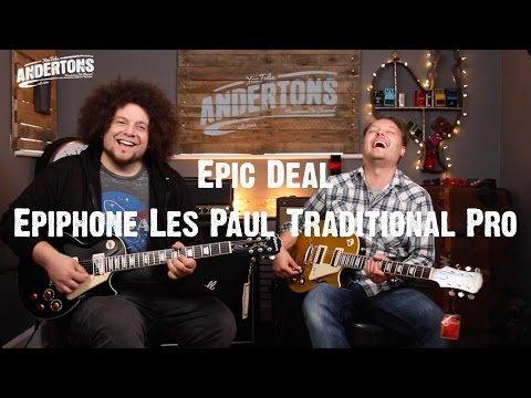Epic Deals - Epiphone Les Paul Traditional Pro