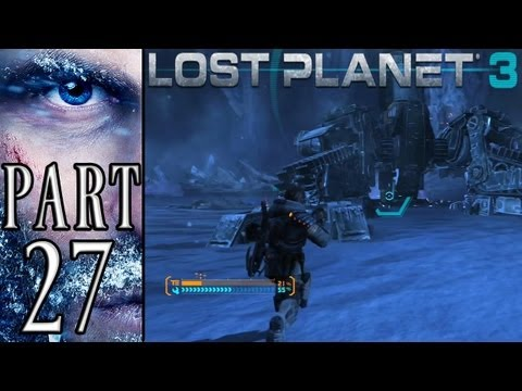 Lost Planet 3 - Part 27 - Repairing the Rig (PS3) (Campaign) (Walkthrough) [HD]