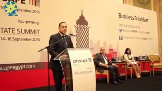 بالفيديو : بحضور وزير الإسكان فعاليات مؤتمر سيتي سكيب