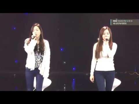 150214 Taeyeon X Sunny- Ma Boy Live video