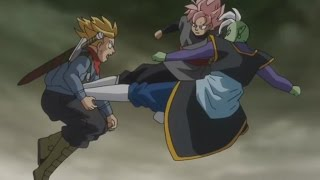 Dragon Ball Super - Trunks vs. Goku Black e Zamasu (Episódio 62) Legendado PT-BR HD