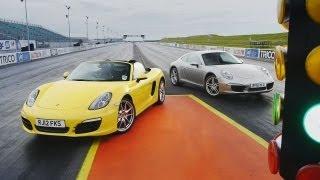 Showdown – 2012 Porsche 911 Carrera (991) vs. 2013 Porsche Boxster S – CAR and DRIVER