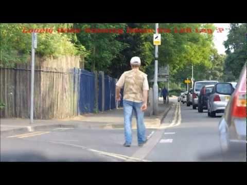 Drunk Dude Walking Alone