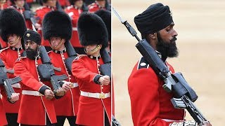 Why Sikh Coldstream Guard becomes the first soldier to wear a turban at Trooping the Colour?
