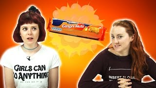 Ginger People Try Ginger Foods