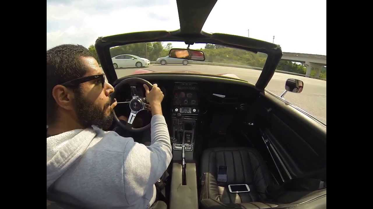 1969 corvette stingray c3 GoPro - YouTube