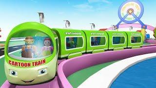 Cartoon Train - Kids Videos for Kids - Toy Factory Cartoon