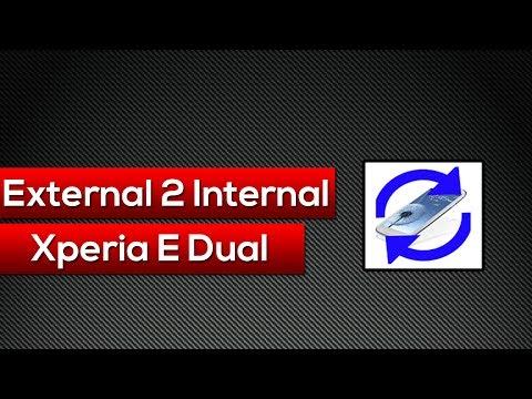 Como Converter a Memoria Externa para Interna (Xperia E Dual)