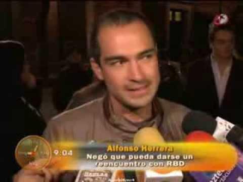 Alfonso Herrera ve complicado el reencuentro de RBD HOY)