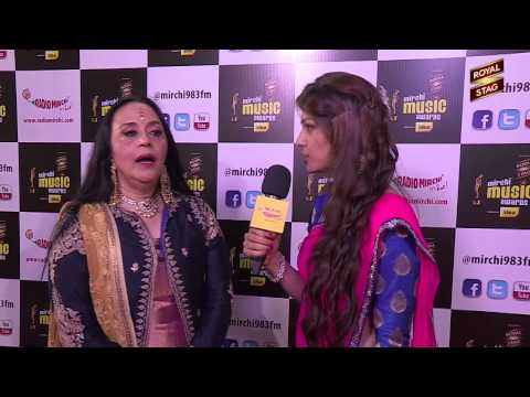 Ila Arun in conversation with RJ Yachna at the #MMAWARDS  RED...
