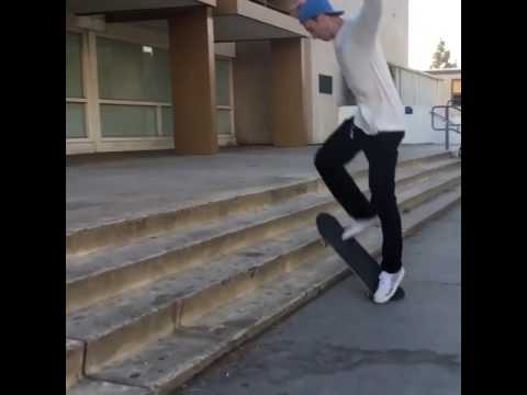 Impossible party with @walkerryan 📹: @dr.kylebrown 😳 | Shralpin Skateboarding