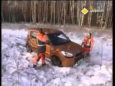 Выехать на машине из сугроба