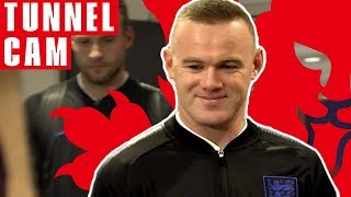 Wayne Rooney Says Goodbye to England | Tunnel Cam | England 3-0 USA