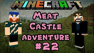 Modded Minecraft 1.6.4 | Meat Castle Adventure | Blair Witch Too Strong