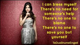 Watch Lucy Hale Bless Myself video