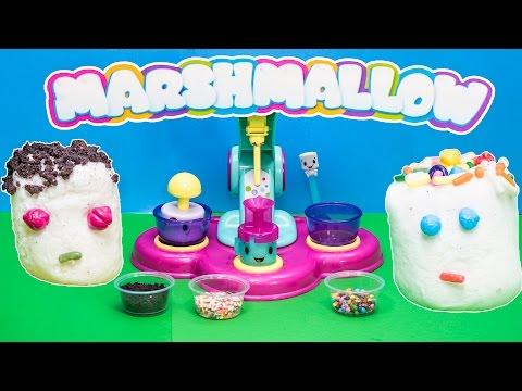 MAGIC MARSHMALLOW MAKER The Assistant Makes Stuffed Marshmallows TheEngineeringFamily Video