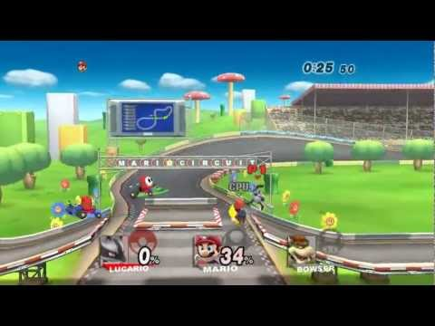 SSBB (TAS): All Star Mode (Intense) w/ Lucario