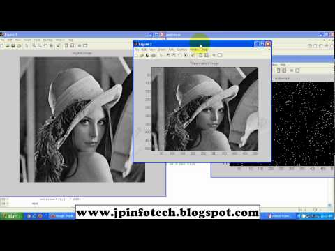 MATLAB Robust Watermarking of Compressed and Encrypted JPEG2000 Images