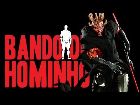 Bando de Hominho - Star Wars Cyborg Darth Maul Premium Format Figure Sideshow