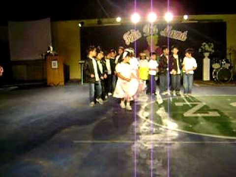 Colegio Acuarella Baile Grease Brillantina(Rocío 2011).AVI