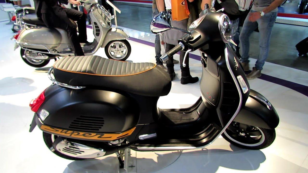 2014 vespa gts supersport 300ie scooter walkaround 2013. Black Bedroom Furniture Sets. Home Design Ideas