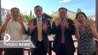 CNRP 'nine fingers' campaign launched to back Rainsy return
