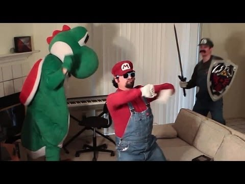 The Harlem Shake Nintendo Version - Nintendo Harlem Shake Ft. Mario