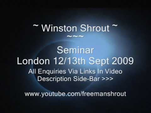 London Seminar Winston Shrout