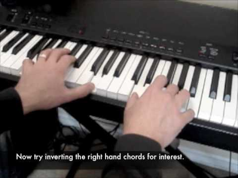 Keyboard Lesson - 4 Chord Progression Music Videos