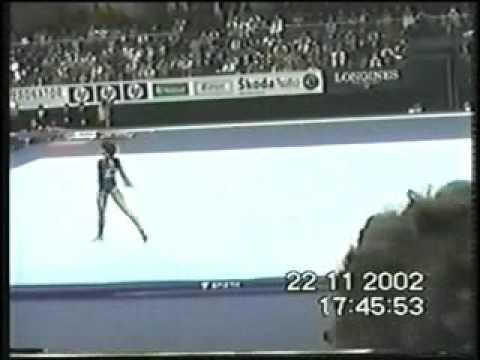 Sabina Cojocar - 2002 Worlds - Semis - Floor Exerci